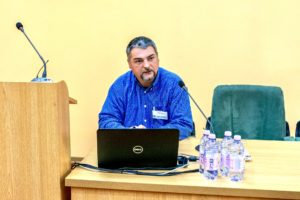 Mate Zsolt, member of of the Association of the Visually Impaired Hungarians from Romania